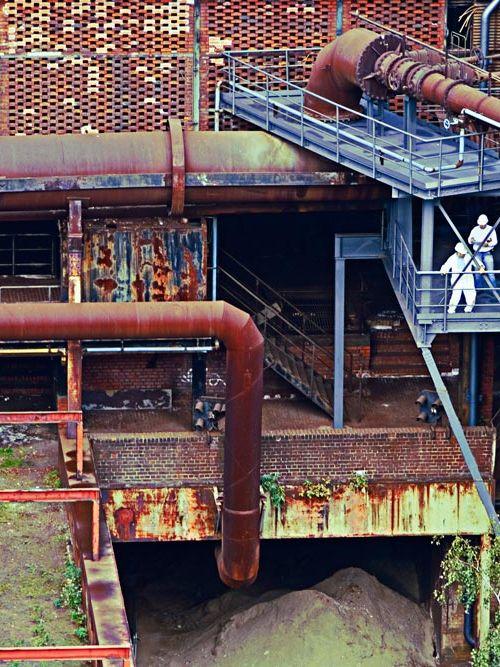 Landschaftspark Duisburg: Besuch des alten Hüttenwerks in Bildern