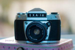 Exa1a - analoge Spiegelreflexkamera
