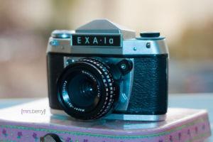 Exa1a - analoge Spiegelreflexkamera - Auslöser