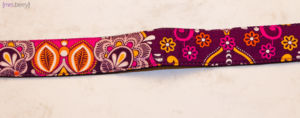 IMO - Purple Damask Strap