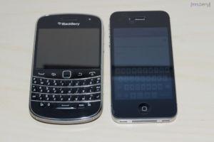 BlackBerry Bold 9900 vs. iPhone 4S