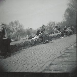 Lomografie Cologne: Rheinufer Promenade