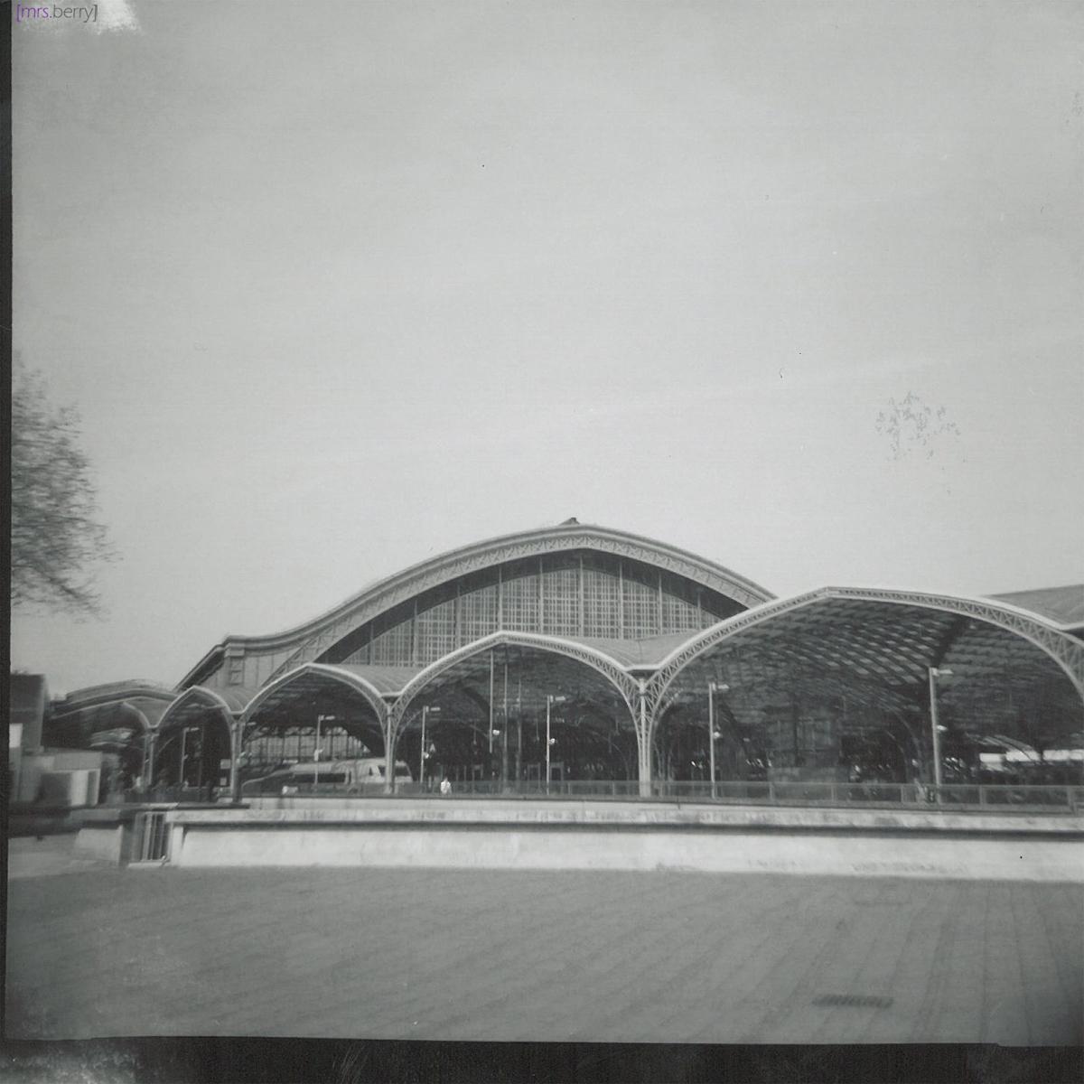 Lomografie Cologne: Kölner Hauptbahnhof