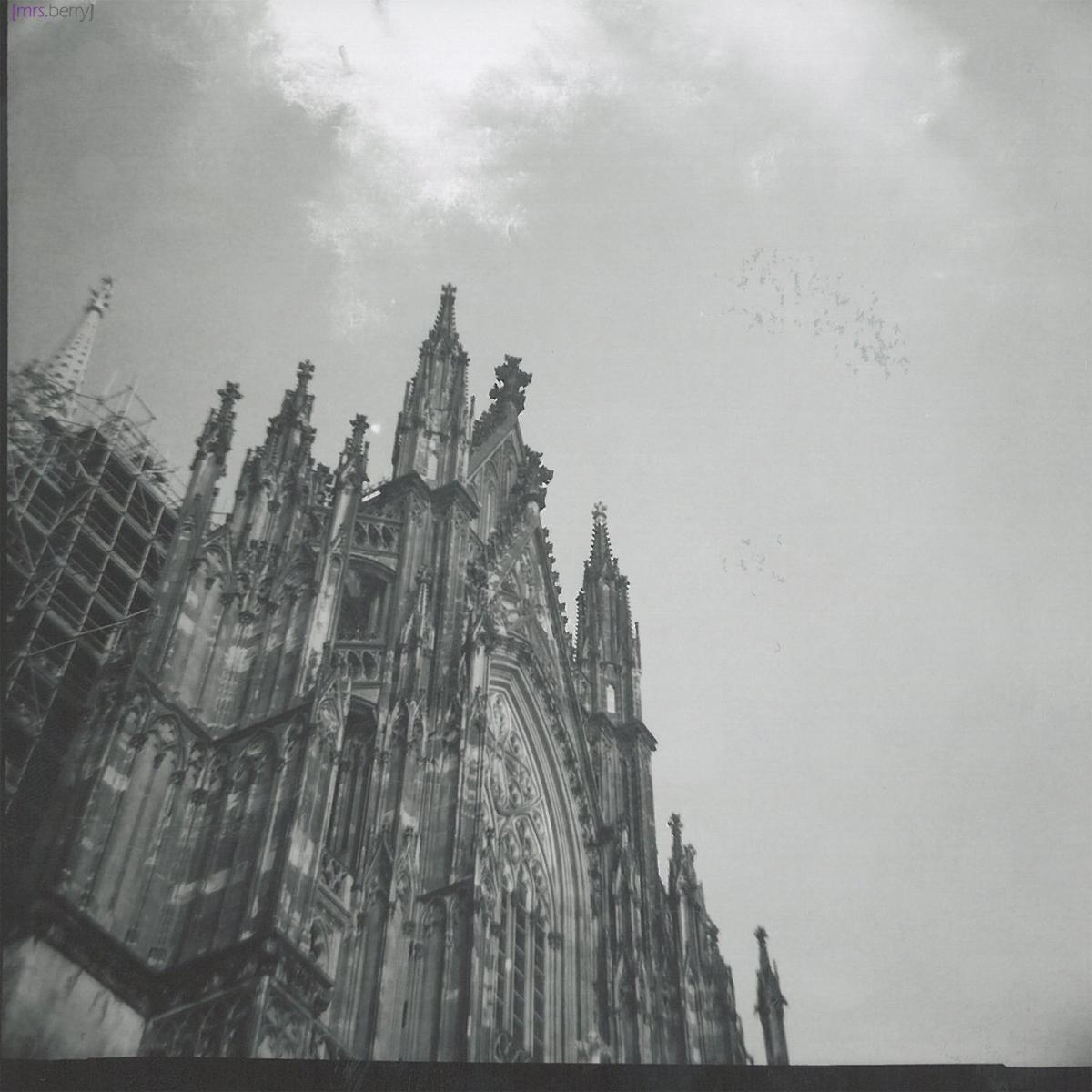 Lomografie Cologne: Domspitze