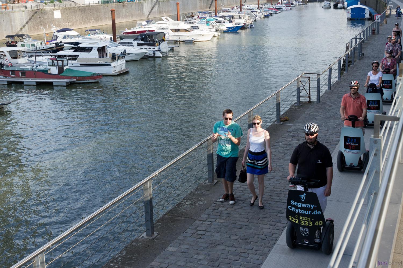 Rheinauhafen in Köln - Segway Tour