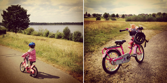 Radtour - raus und die Natur geniessen