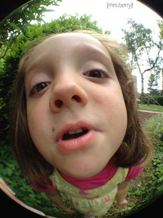 Rollei Fisheye Objektiv Effekt