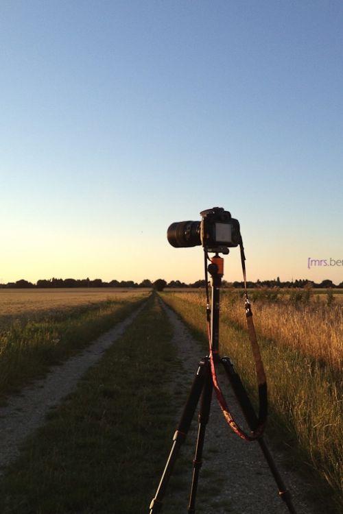 Kamerarucksack mit Stativ für Radel, Reise und Outdoor