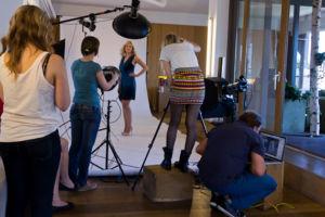 bts Gillette Venus Event: Shooting von Lena
