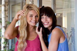 bts Gillette Venus Event: Luisa und Sarah-Anessa :-)