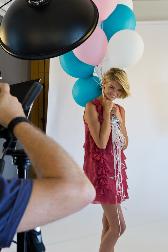 bts Gillette Venus Event: Shooting mit Luisa