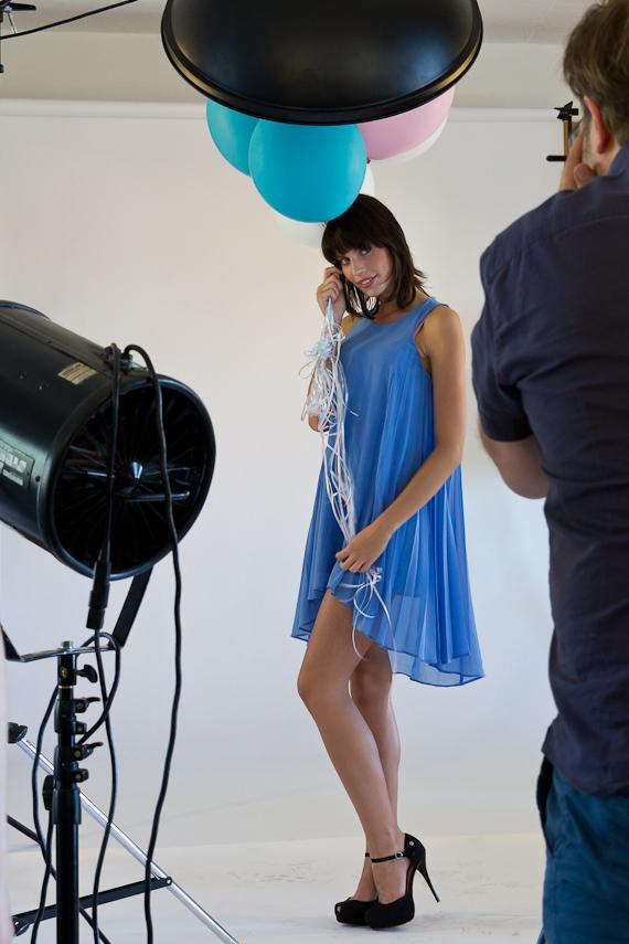 bts Gillette Venus Event: Shooting mit Sarah-Anessa