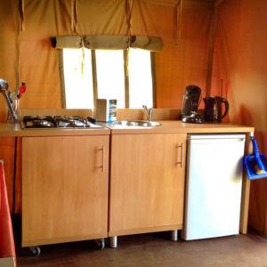 Molecaten Ferienpark in Flevoland, Holland - Küche
