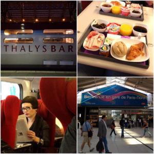 MrsBerry in Paris: mit dem Thalys unterwegs