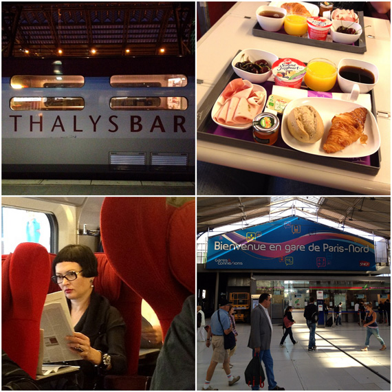 MrsBerry in Paris: mit dem Thalys unterwegs