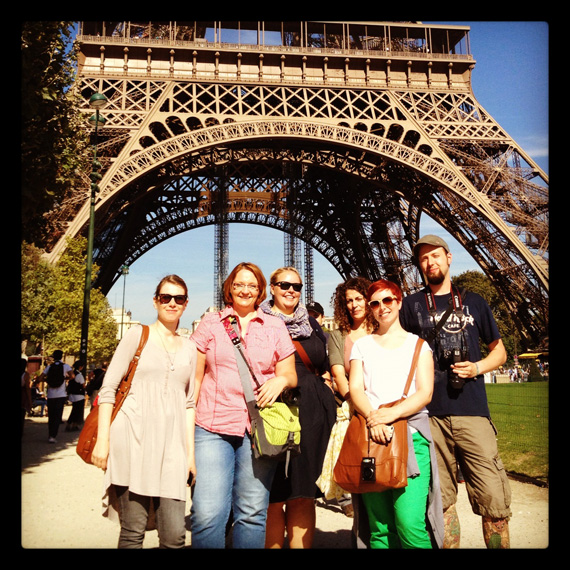 MrsBerry in Paris: mit der @IgersCologne Gruppe