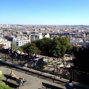 MrsBerry in Paris: Blick von Sacré-Coeur auf Paris