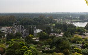 Flevoland: Walibi World - Überblick vom Riesenrad La Grande Roue