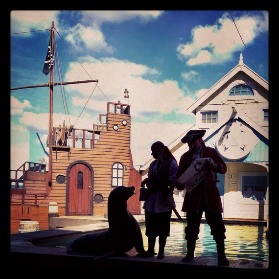 Dolfinarium Harderwijk - 'De Piratenbende'