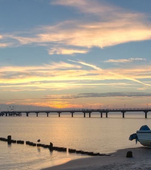 Morgens 6:15 Uhr an der Ostsee …