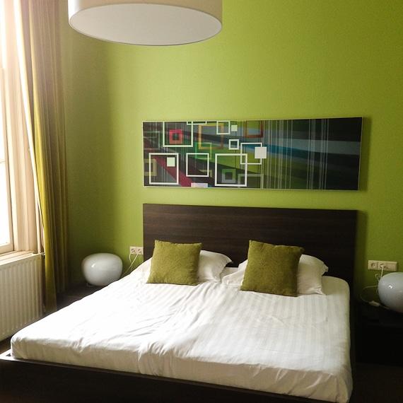 Hotel Blanc in Arnheim, Holland