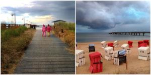 Usedom via Instagram - der Strand von Bansin