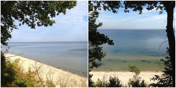 Usedom via Instagram - Steilküste zwischen Ückeritz und Bansin