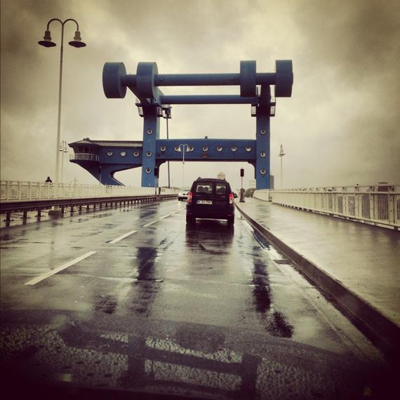 Usedom via Instagram - Peenebrücke in Wolgast