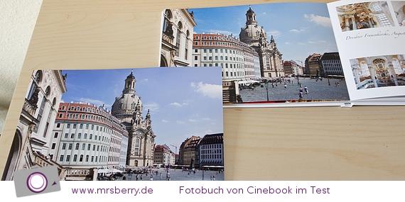 Vergleich Fachabzug von Saal-Digital (links) zu Fotobuch von Cinebook (rechts)