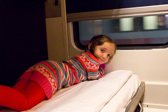 mit der City Night Line nach München