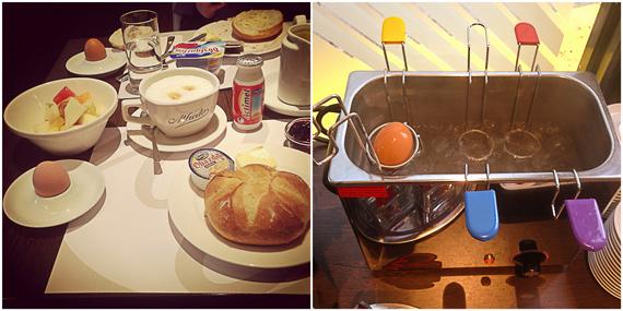 Frühstück im Hotel Cristal München