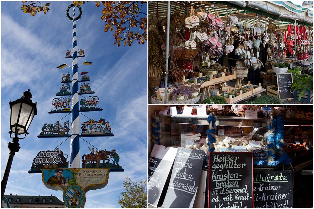 München - am Viktualienmarkt