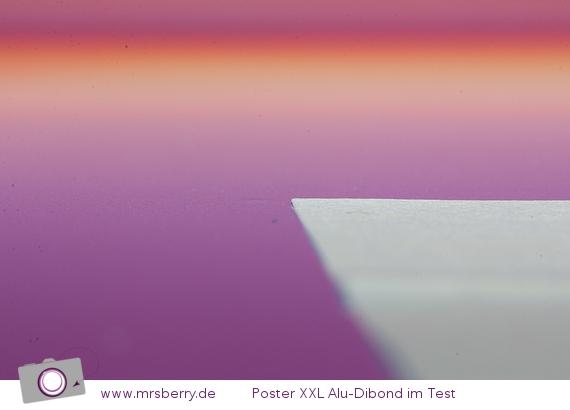 Poster XXL: Alu-Dibond - Reklamation Huckel