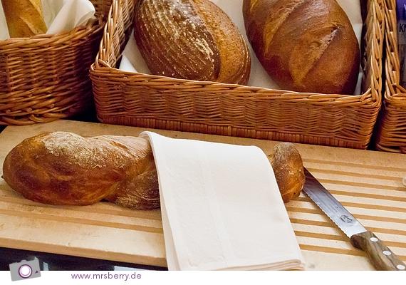 Bäckerei im Designhotel Nira Alpina - Brot des Tages: Bierstangenbrot