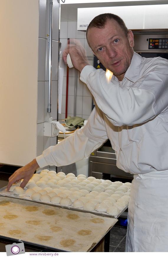 Bäckerei im Designhotel Nira Alpina - Bäcker Wolfgang