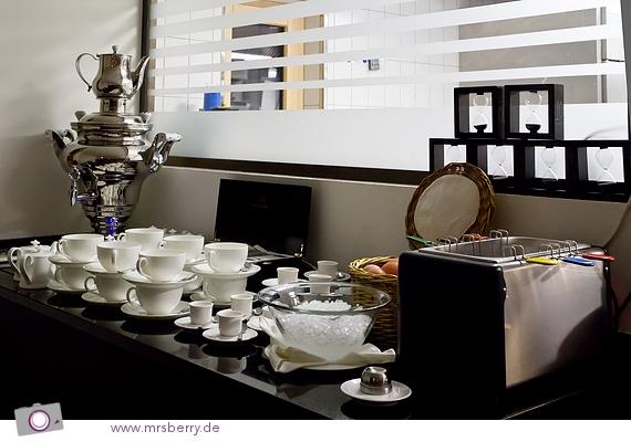 Frühstücksbuffet im Restaurant STARS des Designhotel Nira Alpina