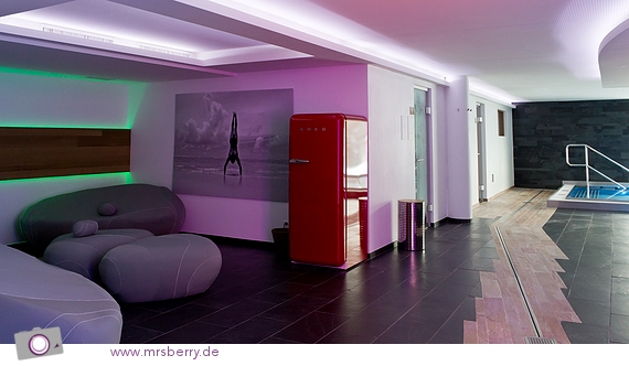 SPA im Hotel Nira Alpina - Erfrischungsgetränke