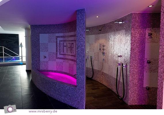SPA im Hotel Nira Alpina - Mosaik Brunnen