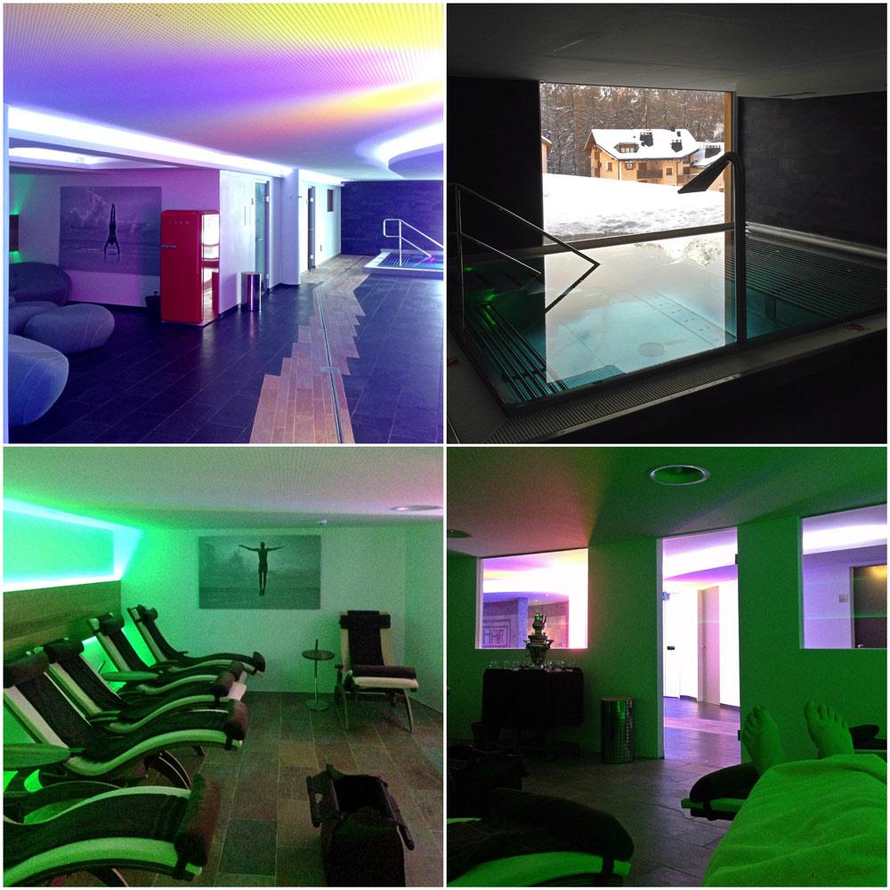 Das SPA im Hotel Nira Alpina