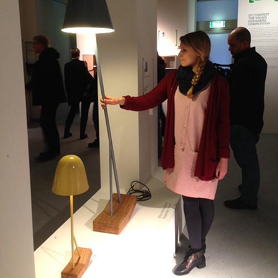Leoni Werle und ihre Tisch- und Stehleuchte Pilu