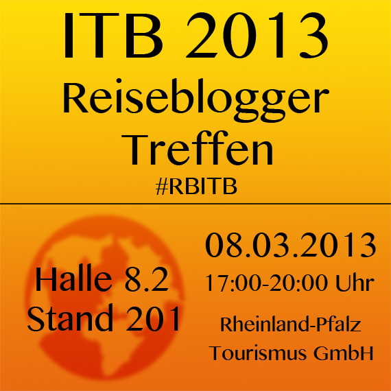 ITB 2013 Reiseblogger Treffen