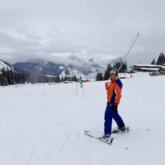 Skilehrerin Julia, von der Skischule Total in Ehrwald (AT)