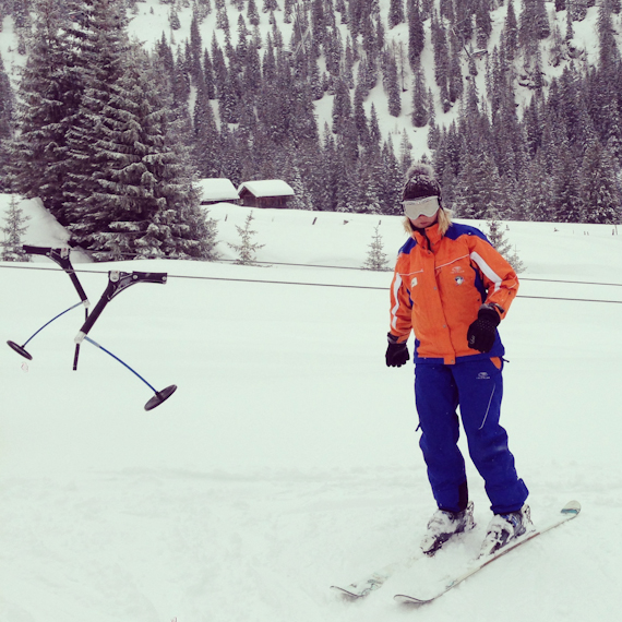 Skilehrerin Julia