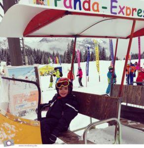 Panda Express der Skischule Total in Ehrwald