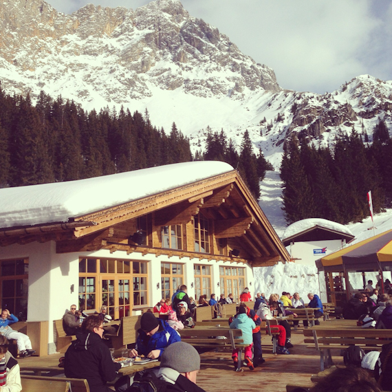 Verdiente Pause im Tirolerhaus