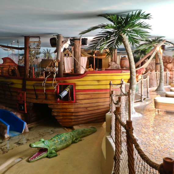 Piratenland im Leading Family Hotel & Resort ALPENROSE