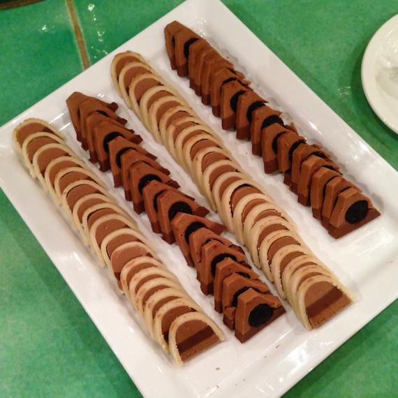 Süße Schmankerln vom Buffet - noch mehr Schokolade