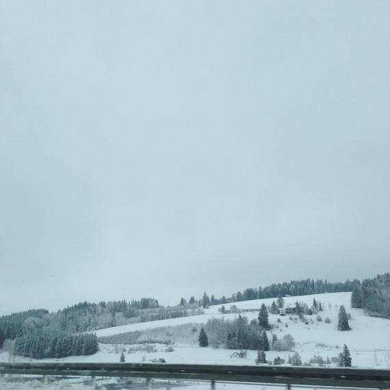 Die Reste vom Winter in Bayern