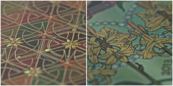 Paperblanks Designs - Kirikane & Tigerlilie