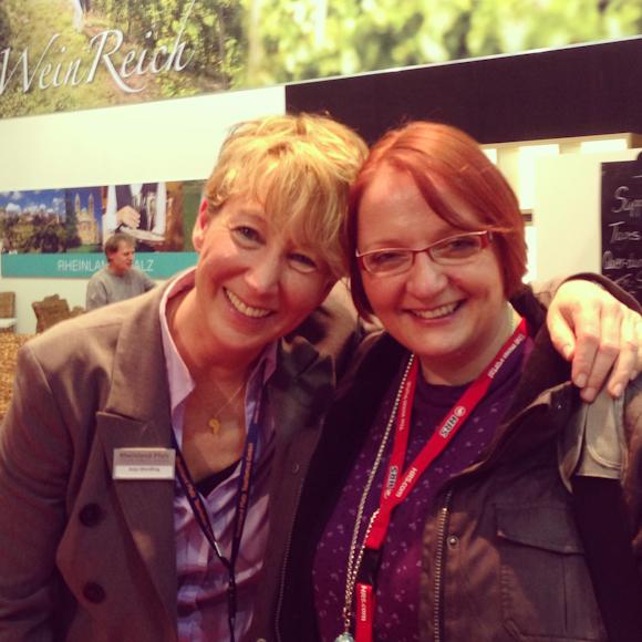 Anja Wendling von Rheinland Pfalz Tourismus & Tina